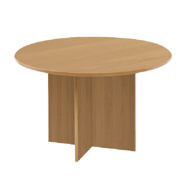 First Round Meeting Table Maple