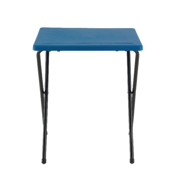 Image for Jemini Folding Exam Desk Polypropylene Blue