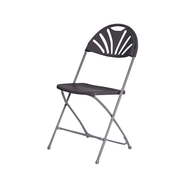 Image for Jemini Folding Chair Charcoal