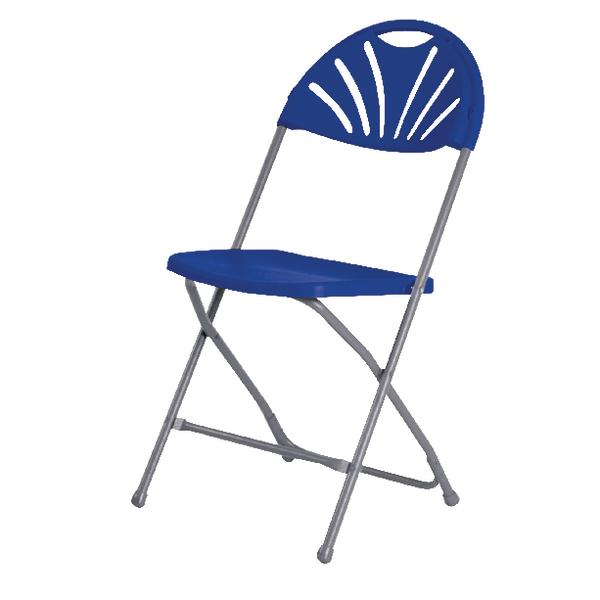 Image for Jemini Folding Chair Blue