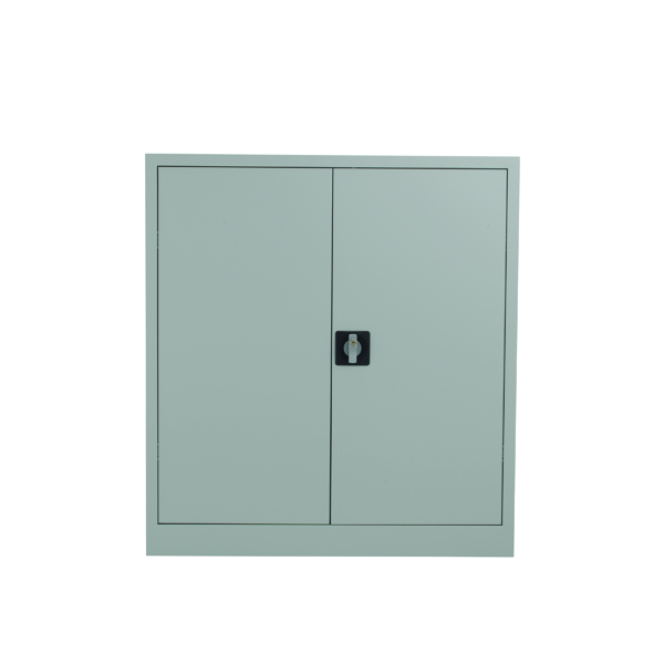 Image for Talos Double Door Stationery Cupboard 1000 Grey