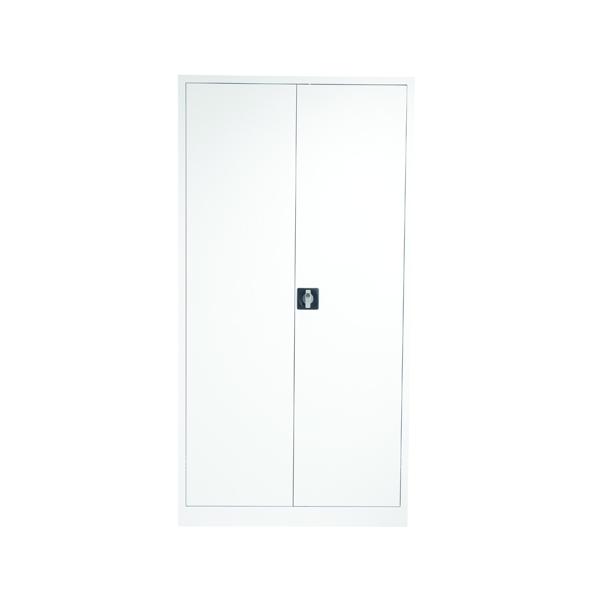 Talos Double Door Stationery Cupboard 1790 White
