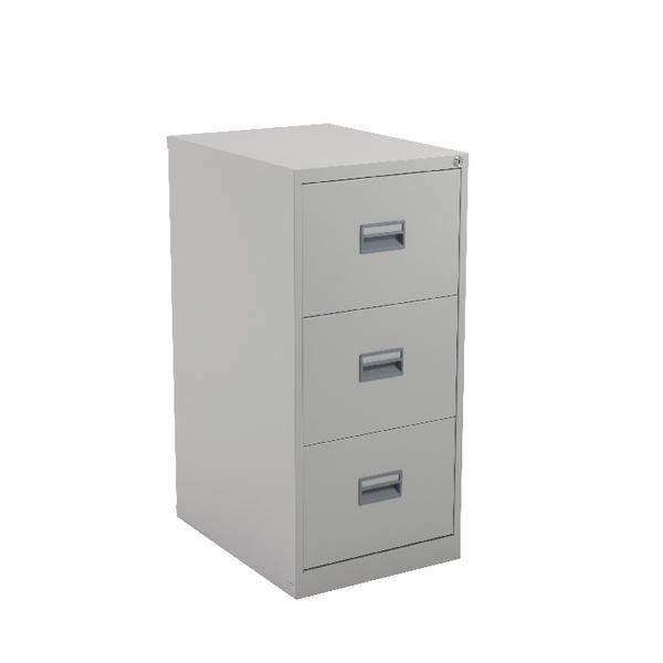 FR Talos 3 Drawer Filing Cabinet Grey