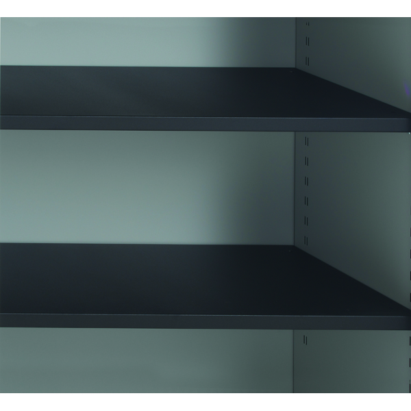 Image for Talos Tambour Black Shelf - designed for use with Talos side opening tambour cupboards -