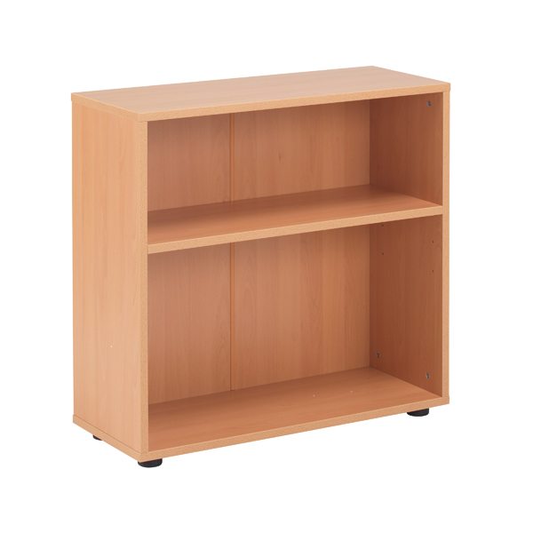 Jemini 18 Beech 720mm Desk Bookcase