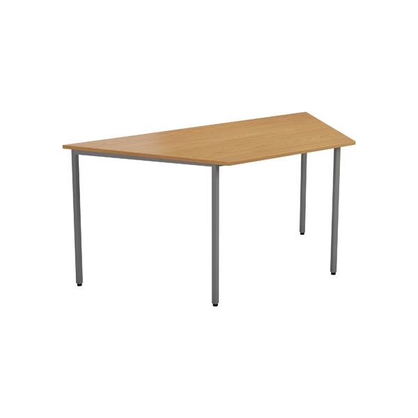 Jemini Oak 1600mm Trapeze Table
