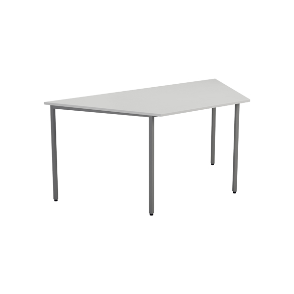Jemini Trapezoidal Table W1600 Wht