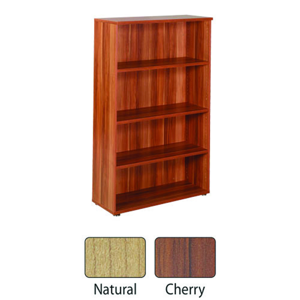 Image for Avior Ash 1600mm Bookcase (W1000 x D400 x H1600mm) KF838272