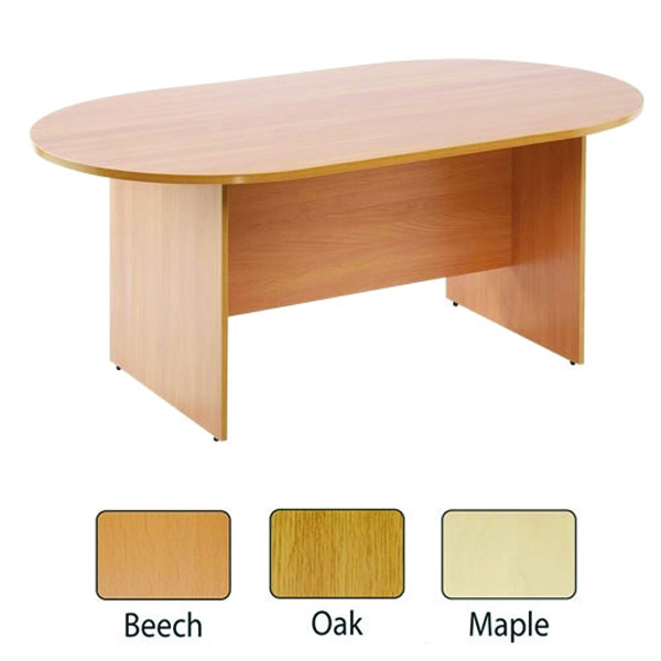Image for Arista Beech 2400mm Boardroom Table KF838283