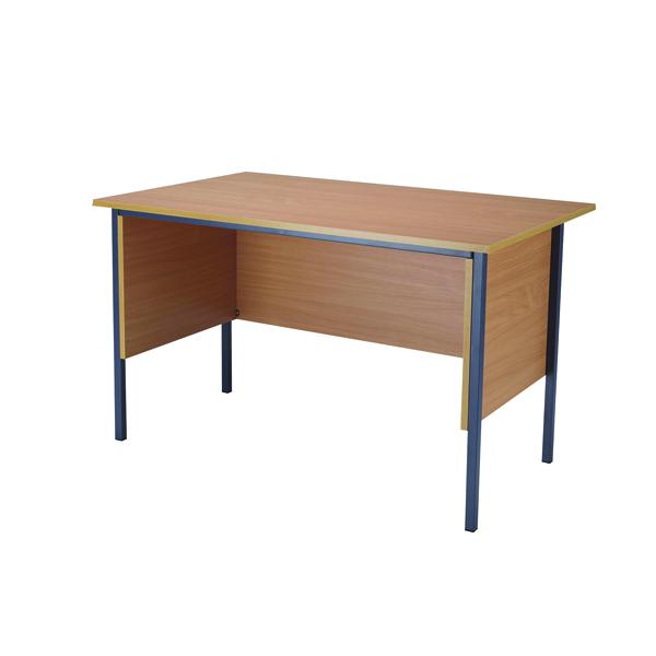 Serrion Bavarian Beech 1200mm Four Leg Desk