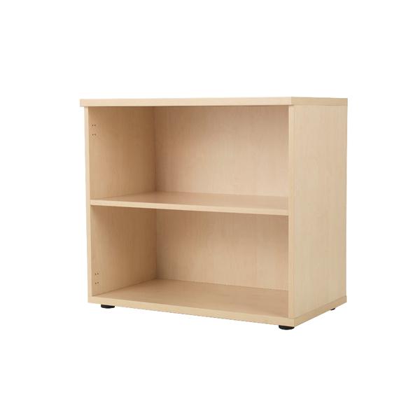Jemini Maple 730mm Bookcase 1 Shelf