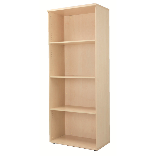 Jemini Maple 2000mm Bookcase 4 Shelf