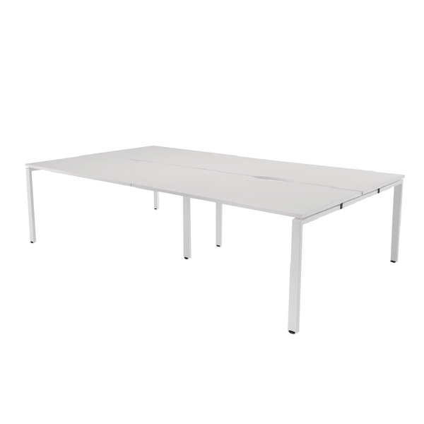Image for Arista 1200mm 4 Person Bench System White