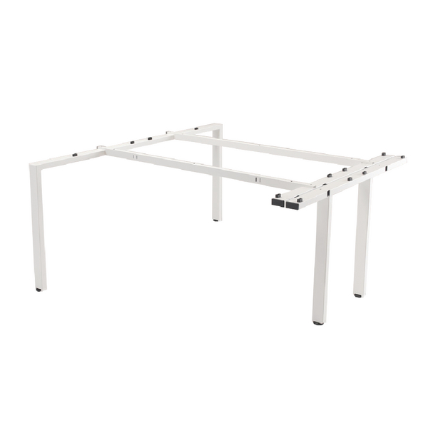 Arista White 1600mm Bench 2 Person Extension Kit