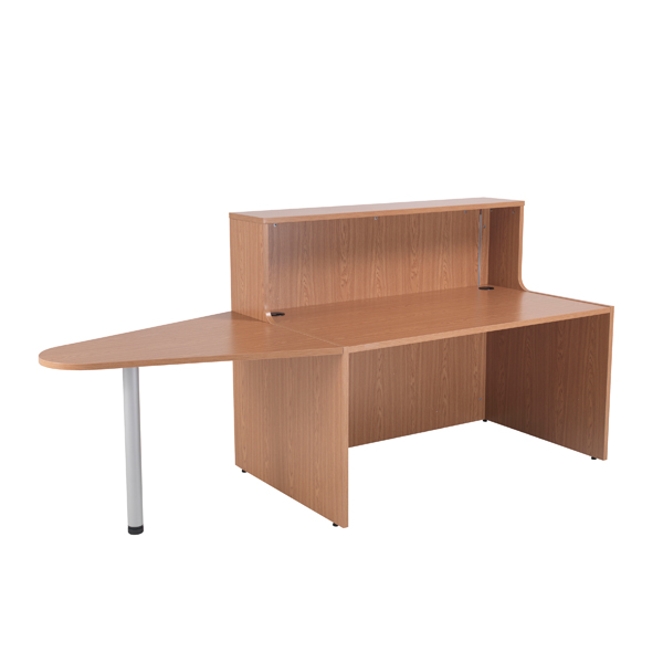 Jemini Beech 1400mm Reception Unit and Extension