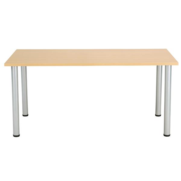 Jemini Oak 1800x800mm Rectangular Meeting Table