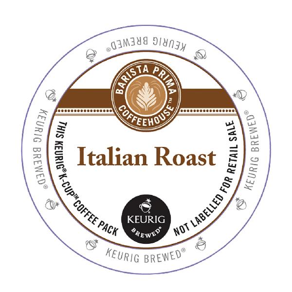 Keurig Barista Prima Coffeehouse Italian Roast Pods (Pack of 22) 93-07012