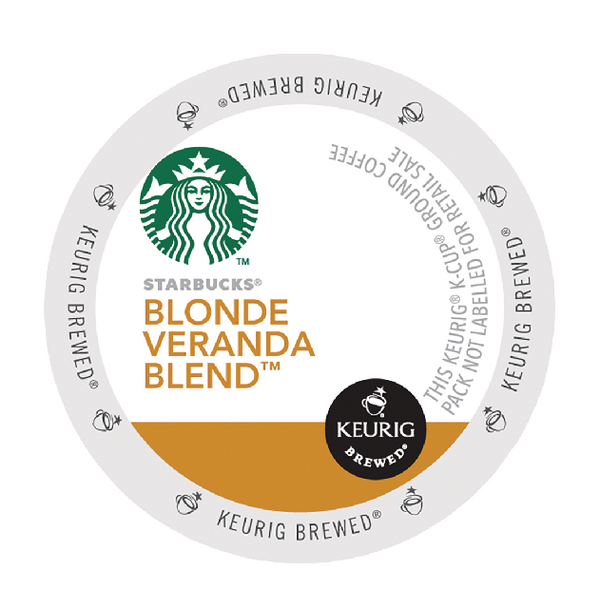 Keurig Starbucks Blonde Veranda Blend Pods (Pack of 24) 93-07017