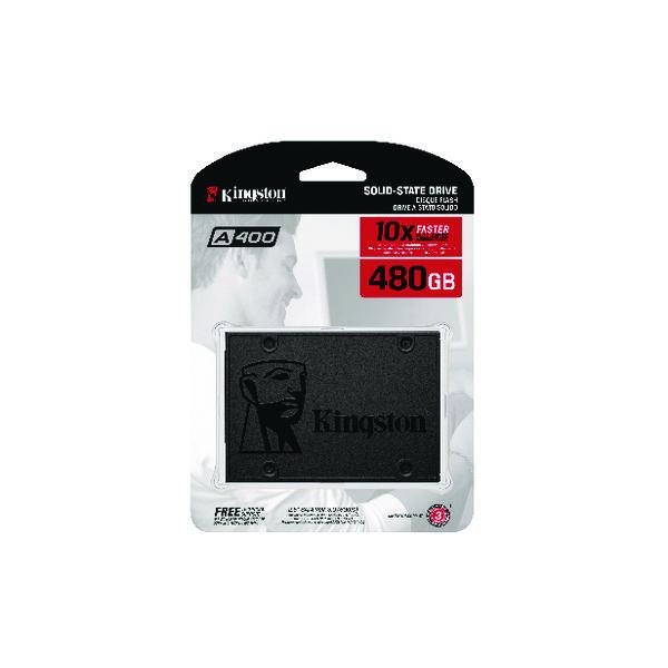 Kingston A400 2.5 Inch Internal SSD 480GB SA400S37/480G