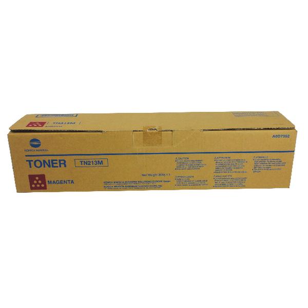 Konica Minolta Bizhub C203/253 Magenta Toner Cartridge Tn213M