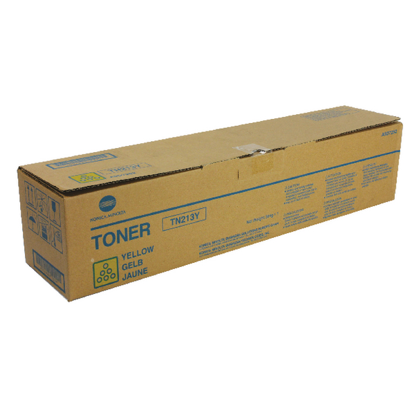 Konica/Min C203/253 Yellow Toner TN213Y