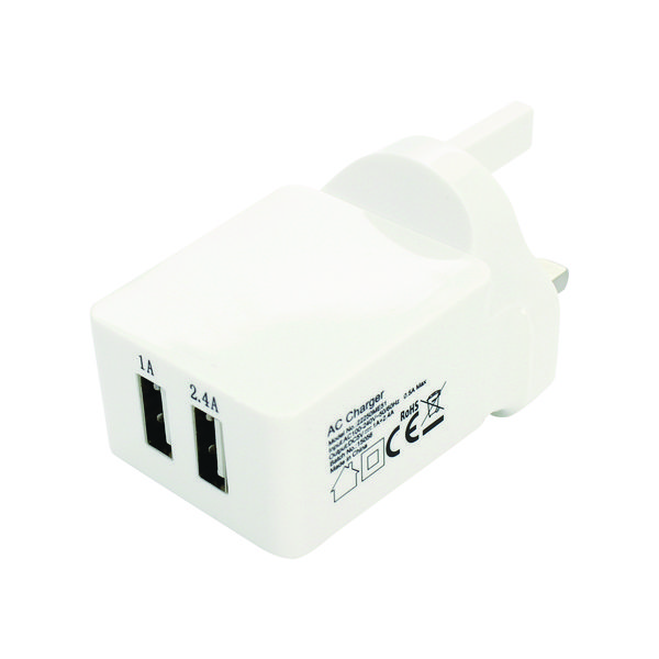 Image for Reviva Twin USB Mains Charger 22490VO11