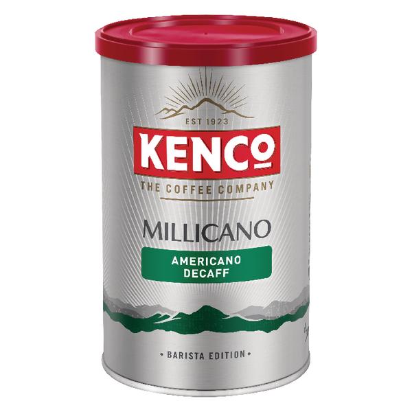 Kenco Millicano Americano Decaff 100g Tin 643124