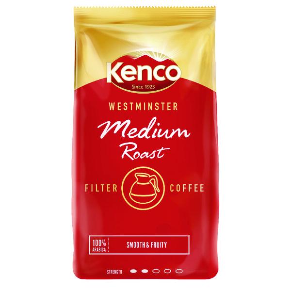 Kenco Westminster Medium Roast Ground Filter Coffee 1kg 24174