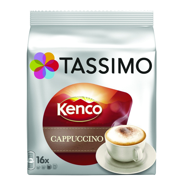 Tassimo Kenco Cappuccino Pods (Pack of 40) 4041300