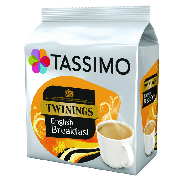 Tassimo Twinings English Breakfast Tea Pod (Pack of 80) 4031568