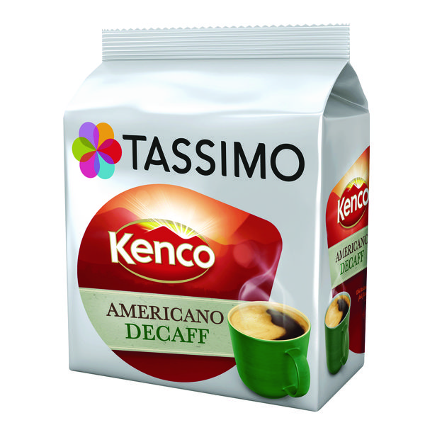 Tassimo Kenco Decaff Americano Pods (Pack of 80) 4031640