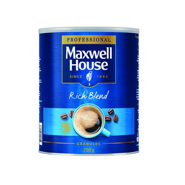 MAXWELL HOUSE GRANULES 750G TIN