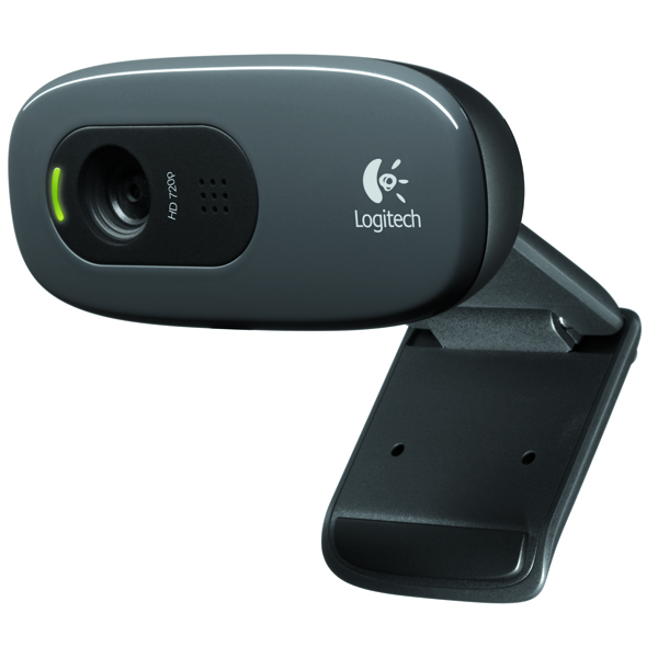 Logitech Black C270 High Definition Webcam 960-000582