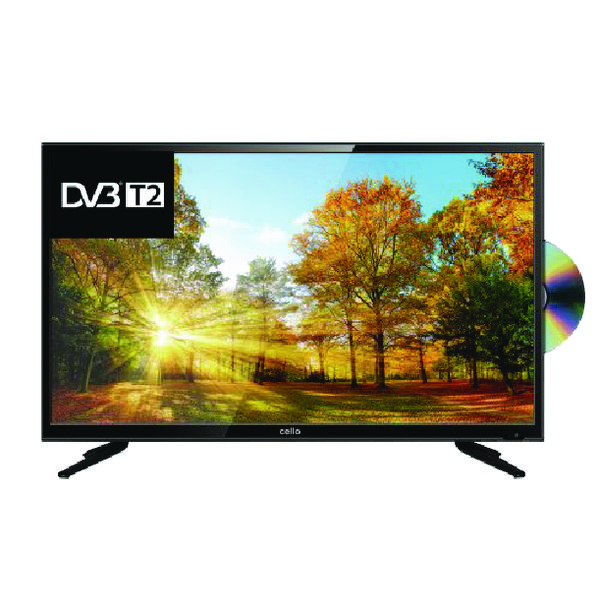Cello 40 Inch LED Full HD TV DVD Combi C40227TF2