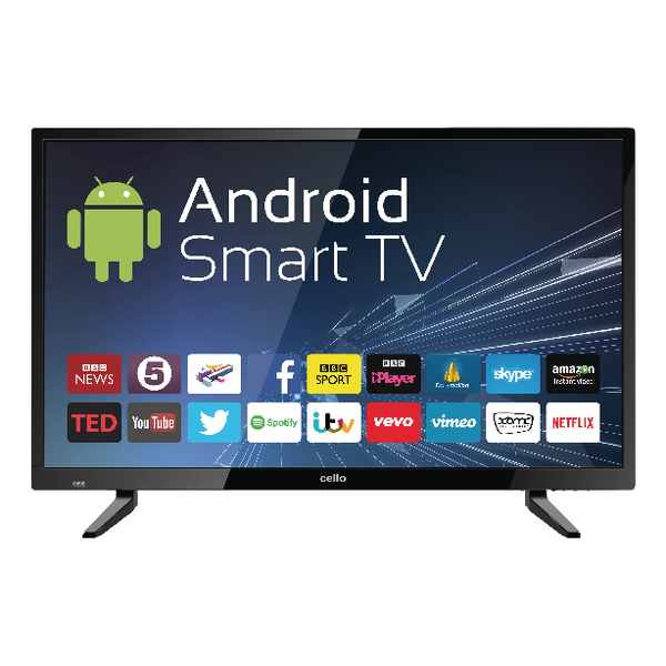 Image for 32inch Android Smart Freeview T2 HD LED TV With Wi-Fi C32ANSMT