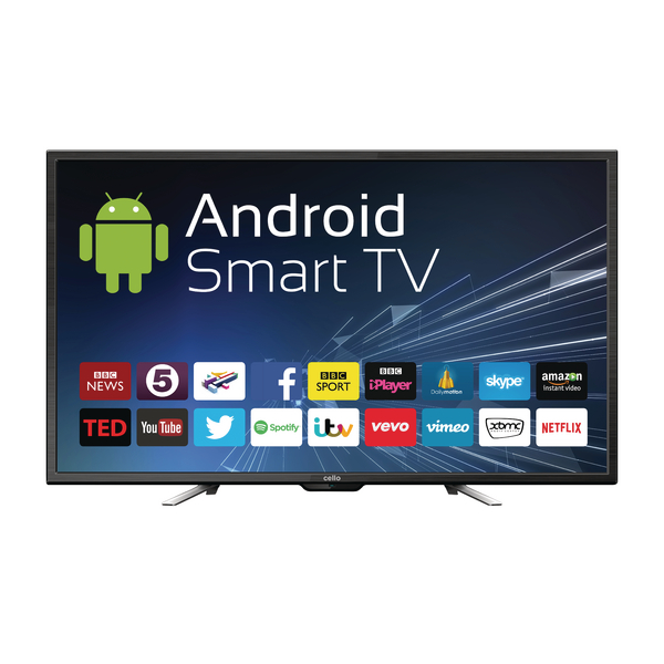 Image for 50inch Android Smart Freeview T2 HD LED TV With Wi-Fi C50ANSMT