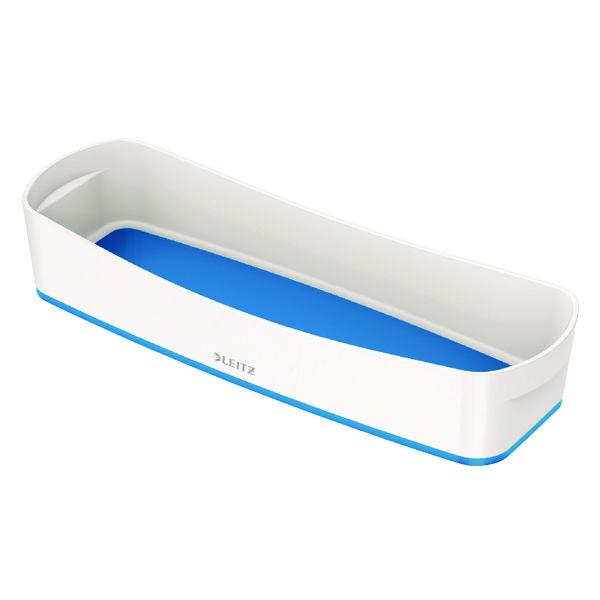 Image for Leitz MyBox Organiser Tray Long White/Blue 52581036