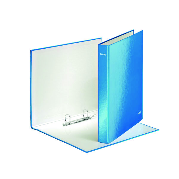 Leitz Wow A4 Plus 2 D-Ring Binder  25mm Blue (Pack of 10) 42410036