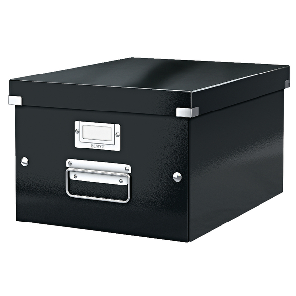 Leitz Click & Store Medium Storage Box Black 60440095