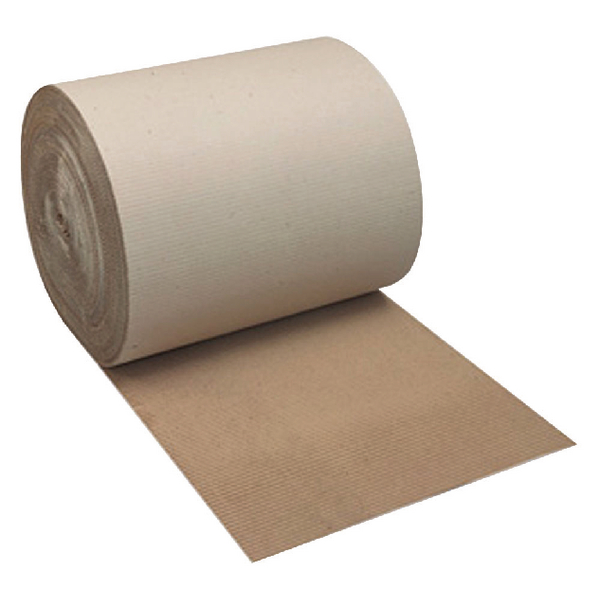 Corrugated Paper Roll 900mm x75m Recycled Kraft SFCP-0900