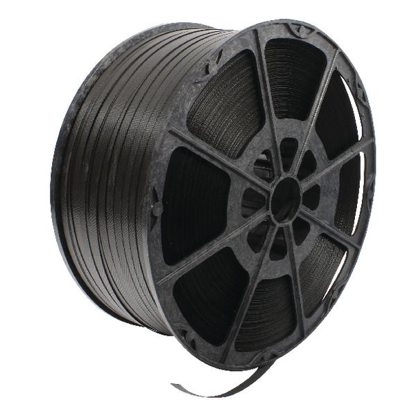 Polypropylene Strapping 12mmx2000m Black 82129003