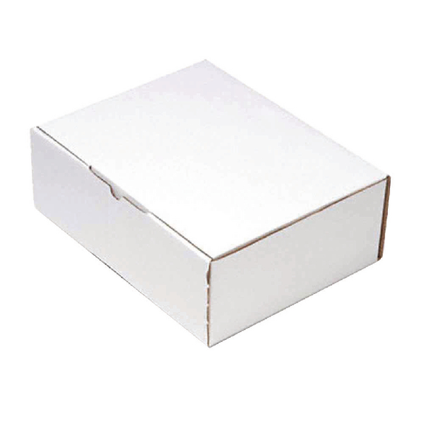 Mailing Box 260x175mm White (Pack of 25) PPAK-KING09-D