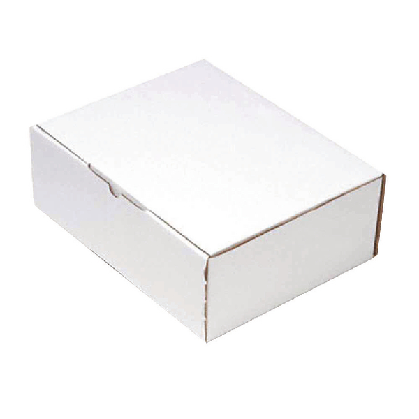 Mailing Box 375x225mm White (Pack of 25) PPAK-KING09-E