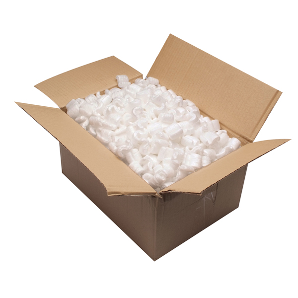 Green Loosefill Polystyrene Chips (Pack of 15 Cubic Feet) 65804
