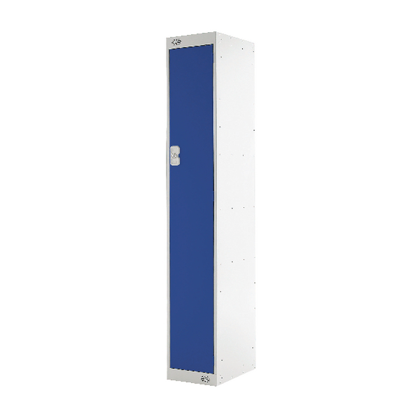 Image for Blue Door 300mm Deep Single Compartment Locker