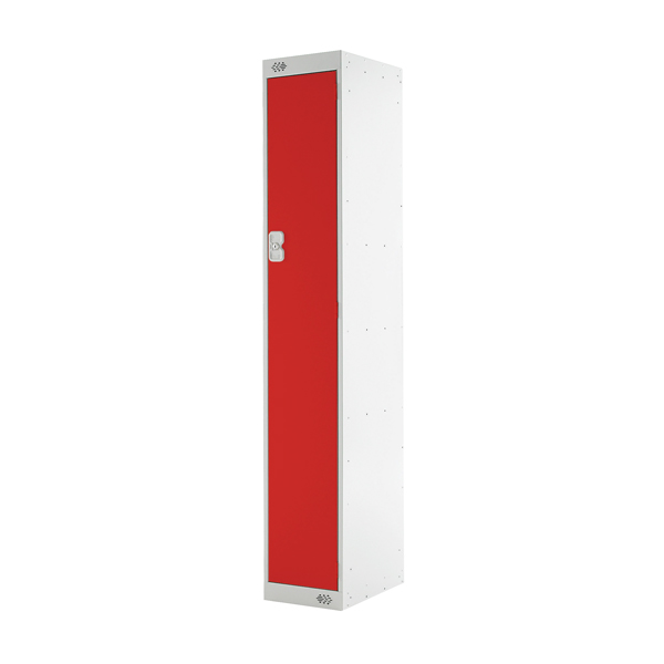 Image for Red Door 300mm Deep Single Compartment Locker