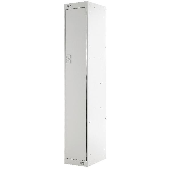 Single Compartment Locker D450mm Light Grey Door MC00038