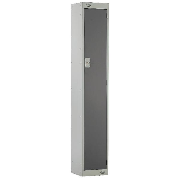 Single Compartment Locker D450mm Dark Grey Door MC00039