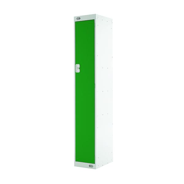 Single Compartment Locker D450mm Green Door MC00040