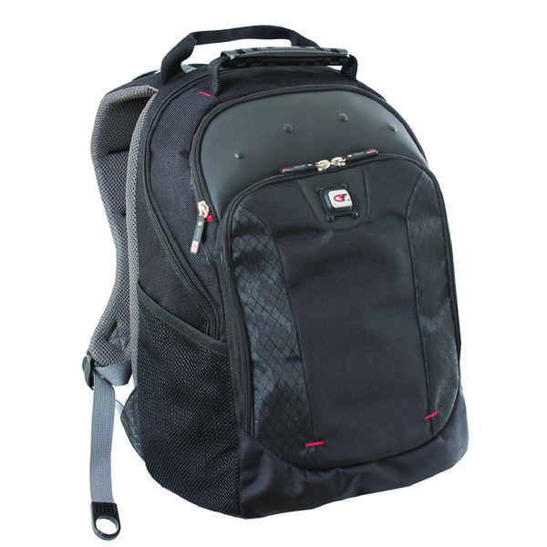 Image for Gino Ferrari Juno 16 inch Black Laptop Backpack GF501